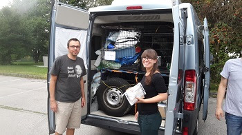 Dank der Hilfe vieler Menschen konnten in den letzten Monaten und Jahren etliche Sachspenden in den verschiedenen Auffangstationen übergeben werden.