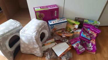 Spenden unterwegs nach Spanien